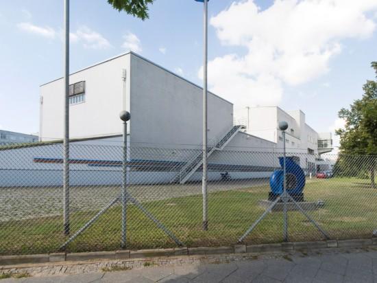 1: Phosphateliminierungsanlage • Waidmannsluster Damm, Buddestraße • Gustav Peichl • Block 650 • Zustand Juli 2012 • Foto: Gunnar Klack