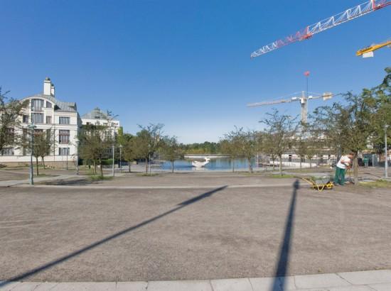 Tegeler Hafen, Zustand Juli 2012; Foto: Gunnar Klack