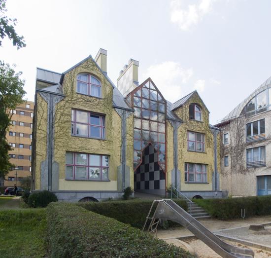 Stadtvilla Stanley Tigerman, Zustand Juli 2012; Foto: Gunnar Klack