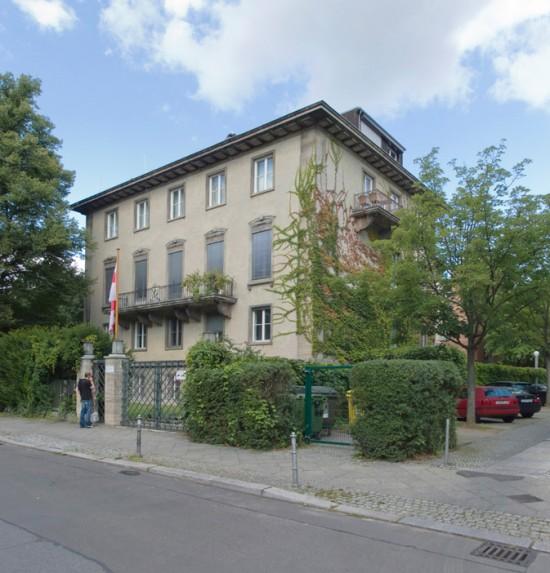 6: Umbau der ehemaligen Norwegischen Botschaft • Rauchstraße 11 • Freie Planungsgruppe Berlin • Block 189 • Zustand Juli 2012 • Foto: Gunnar Klack