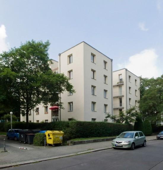 7: Stadtvillen an der Rauchstraße • Thomas-Dehler-Straße 3 • Giorgio Grassi • Block 189 • Zustand Juli 2012 • Foto: Gunnar Klack