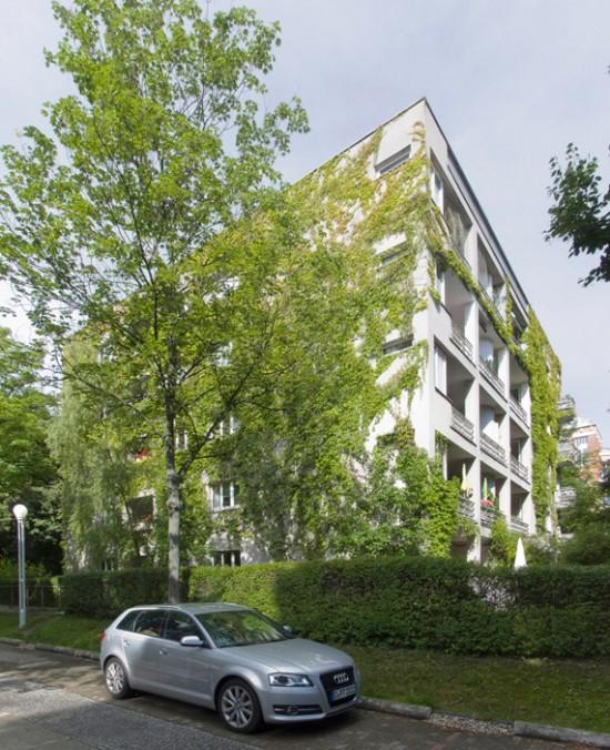 7: Stadtvillen an der Rauchstraße • Thomas-Dehler-Straße 1 • Klaus Theo Brenner/Benedict Tonon • Block 189 • Zustand Juli 2012 • Foto: Gunnar Klack