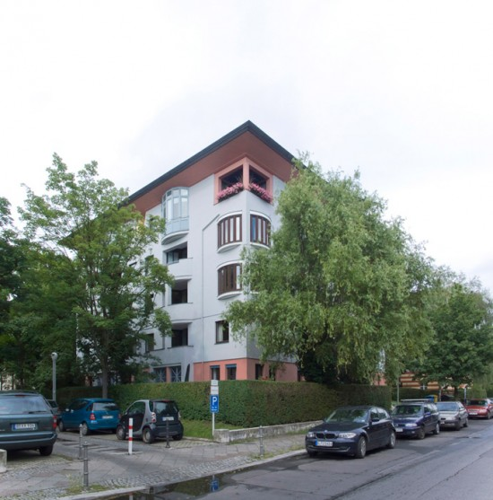 7: Stadtvillen an der Rauchstraße • Rauchstraße 5 • Hans Hollein • Block 189 • Zustand Juli 2012 • Foto: Gunnar Klack