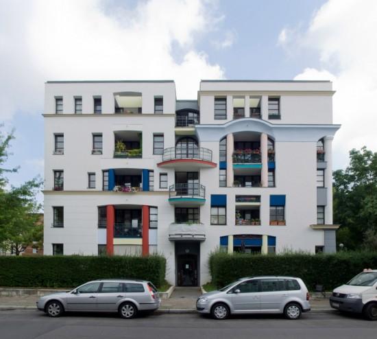 7: Stadtvillen an der Rauchstraße • Rauchstraße 6 • Rob Krier • Block 189 • Zustand Juli 2012 • Foto: Gunnar Klack