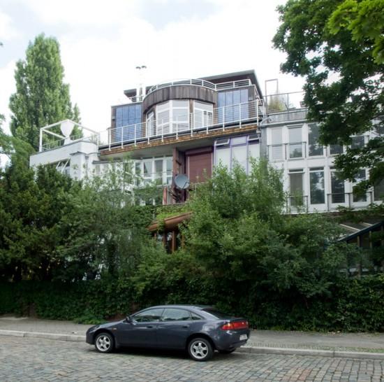 8: Öko-Haus • Corneliusstraße 11/12 • Frei Otto mit Team, Hermann Kendel • Block 192 • Zustand Juli 2012 • Foto: Gunnar Klack