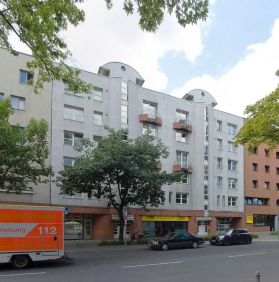 18: Wohnpark am Lützowplatz • Lützowstraße 58/59 • Harald Deilmann • Block 234 • Zustand Juli 2012 • Foto: Gunnar Klack