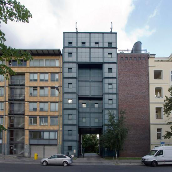 18: Wohnpark am Lützowplatz, Umspannwerk • Einemstraße 18 • Max Dudler/Karl Dudler • Block 234 • Zustand Juli 2012 • Foto: Gunnar Klack