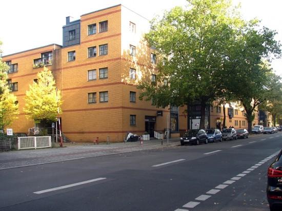 Torhäuser Lützowstraße, Straßenansicht, Zustand Oktober 2012; Foto: Dirk Kaden