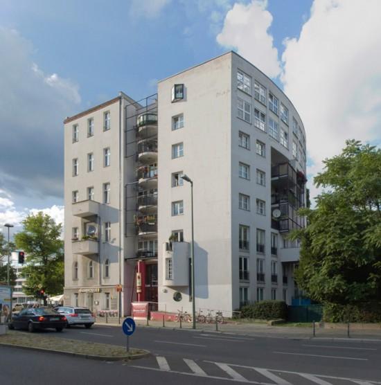 20: Wohnhaus • Kurfürstenstraße 60 • Ante Josip von Kostelac • Block 234 • Zustand Juli 2012 • Foto: Gunnar Klack