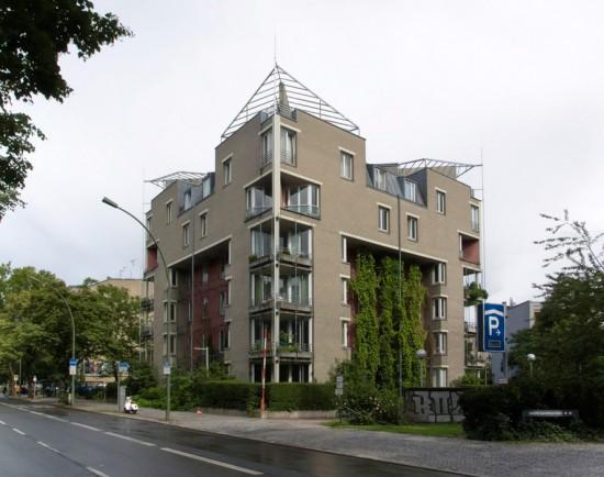 22: Wohnhaus am Lützowufer • Lützowufer 14 • Erich Schneider-Wessling • Block 647 • Zustand Juli 2012 • Foto: Gunnar Klack
