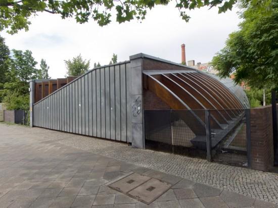 26: Kindertagesstätte im Stadthausquartier • Lützowstraße 40–42 • Jasper Halfmann/Klaus Zillich • Block 647 • Zustand Juli 2012 • Foto: Gunnar Klack