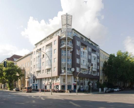 30: Wohnhaus • Lützowstraße 31, Kluckstraße 18 • Antoine Grumbach • Zustand Juli 2012 • Foto: Gunnar Klack