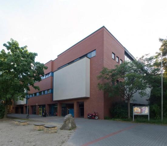 33: Erweiterung der Fritzlar-Homberg-Schule • Lützowstraße 82–88 • Bezirksamt Tiergarten/Hochbauamt • Block 238 • Zustand Juli 2012 • Foto: Gunnar Klack