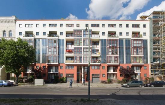 40:Solarhaus • Lützowstraße 3–5 • IBUS GmbH/Hasso Schreck, Gustav Hillmann/Joachim Nagel • Block 228 • Zustand Juli 2012 • Foto: Gunnar Klack