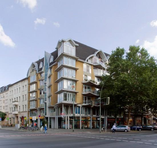 46: Wohnbebauung Pohlstraße • Pohlstraße 63, Potsdamer Straße 101 • Hinrich Baller/Inken Baller • Block 242 • Zustand Juli 2012 • Foto: Gunnar Klack