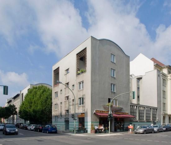 49: Wohnhaus • Bernburger Straße 26 • Dessauer Straße 9/10 • Jan Rave/Rolf Rave & Parter • Block 6 • Zustand Juli 2012 • Foto: Gunnar Klack