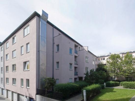 51: Wohnhaus • Dessauer Straße 38–40 • Myra Warhaftig • Block 2 • Zustand Juli 2012 • Foto: Gunnar Klack