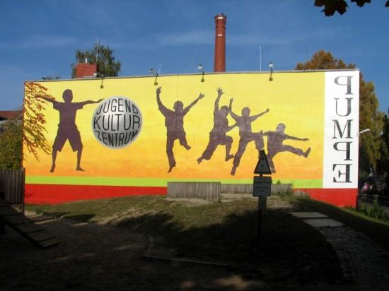 """Jugendzentrum """"Die Pumpe"""" Lützowstraße 42, Zustand Oktober 2012; Foto: Dirk Kaden"""