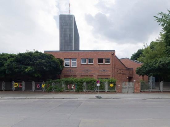60.1: Kindertagesstätte • Hallesche Straße 20 • Hochbauamt Kreuzberg • Block 608 • Zustand Juli 2012 • Foto: Gunnar Klack