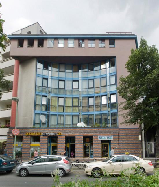 64: Wohn- und Geschäftshaus • Stresemannstraße 46 • Helge Bofinger & Partner • Block 19 • Zustand Juli 2012 • Foto: Gunnar Klack