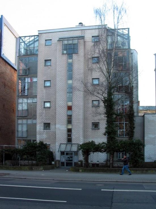 Haus Lützowufer 1A, Bernd Faskel/Vladimir Nicolic, Straßenansicht, Zustand März 2012; Foto: Dirk Kaden