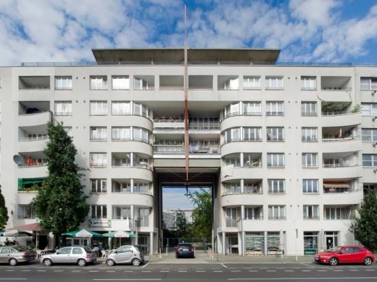 71:Torhaus • Wilhelmstraße 41/42 • Herbert Pfeiffer/Christoph Ellermann • Block 4 • Zustand Juli 2012 • Foto: Gunnar Klack