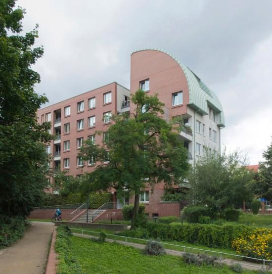 79:Wohnhaus • Wilhelmstraße 10/11 • Jan Bassenge/Kay Puhan-Schulz/Johannes Heinrich/Walter Schreiber • Block 20 • Zustand Juli 2012 • Foto: Gunnar Klack