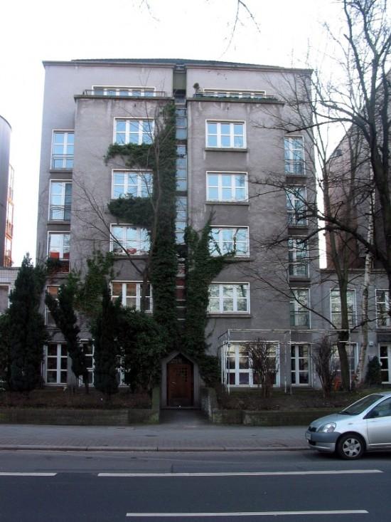 Haus Lützowufer 2, von Gerkan, Marg und Partner, Straßenansicht, Zustand März 2012; Foto: Dirk Kaden