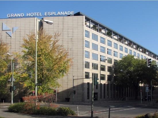 Hotel Esplanade, Zustand Oktober 2012; Foto: Dirk Kaden
