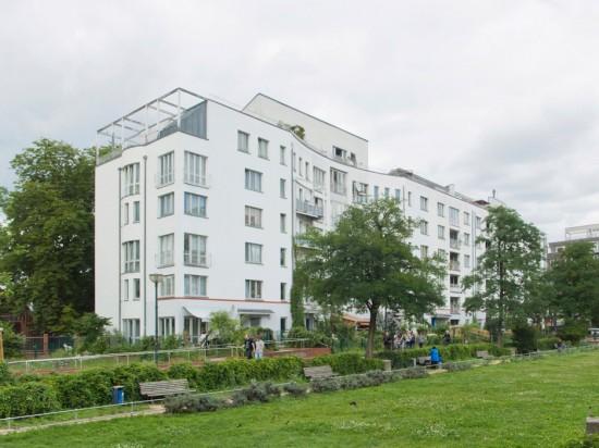 80:Altbauerneuerung und Wohnhausneubau • Friedrichstraße 237/238 • Ralf D. Dähne/Helge Dahl • Block 20 • Zustand Juli 2012 • Foto: Gunnar Klack