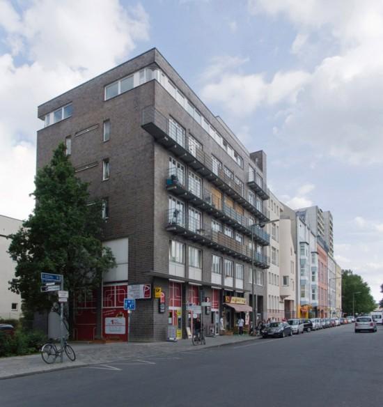 83: Wohnh- und Geschäftshaus • Friedrichstraße 14/15 • Walther Stepp • Block 6 • Zustand Juli 2012 • Foto: Gunnar Klack