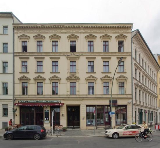 107: Instandsetzung und Modernisierung • Oranienplatz 5 • Block 57 • Zustand Juli 2012 • Foto: Gunnar Klack