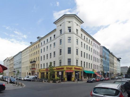 107: Instandsetzung und Modernisierung • Oranienstraße, Luckauer Straße • zahlreiche Planer und Projektpartner • Block 57 • Zustand Juli 2012 • Foto: Gunnar Klack