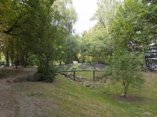 108: Ehemaliger Luisenstädtischer Kanal (südlicher Teil) • Erkelenzdamm, Segitzdamm • Hinrich Baller • Zustand Juli 2012 • Foto: Gunnar Klack