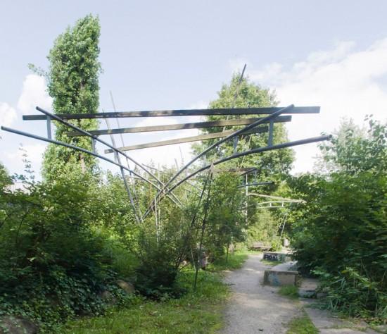 108: Ehemaliger Luisenstädtischer Kanal (südlicher Teil) • Wassertorplatz, Erkelenzdamm, Segitzdamm • Hinrich Baller • Zustand Juli 2012 • Foto: Gunnar Klack