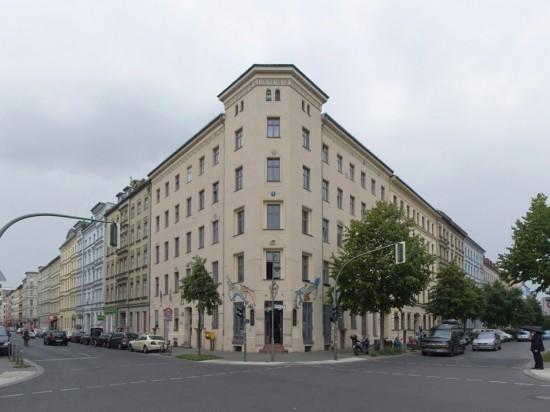112: Instandsetzung und Modernisierung • Waldemarstraße, Adalbertstraße • zahlreiche Planer und Projektpartner • Block 76 • Zustand Juli 2012 • Foto: Gunnar Klack