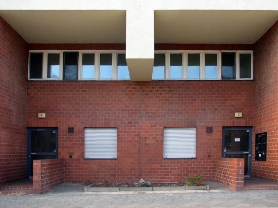 Häuser Lützowplatz 2 und 4, Hauseingänge, Zustand Oktober 2012; Foto: Dirk Kaden