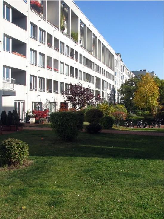 Wohnhäuser Lützowstraße 61–66, Hofansicht, Zustand Oktober 2012; Foto: Dirk Kaden
