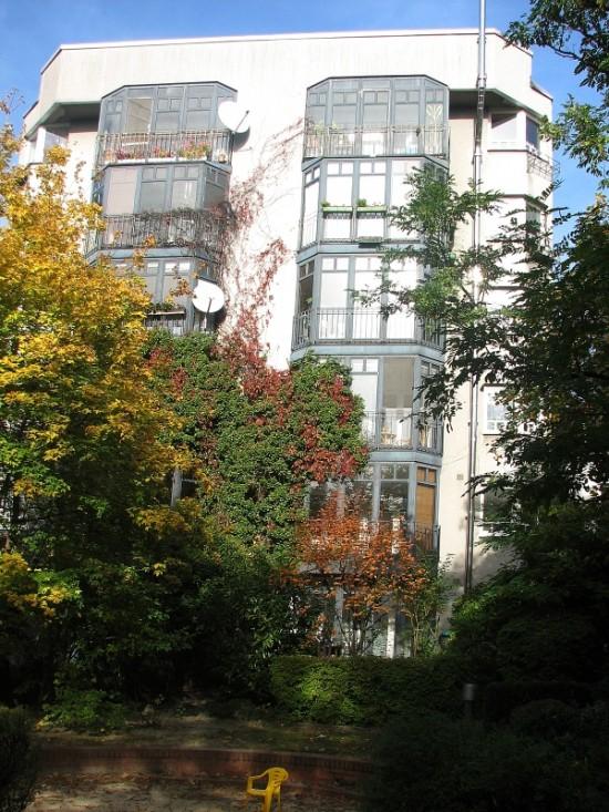 Haus Lützowufer 3, PJS Pysall, Jensen, Stahrenberg & Partner, Hofansicht, Zustand Oktober 2012; Foto: Dirk Kaden