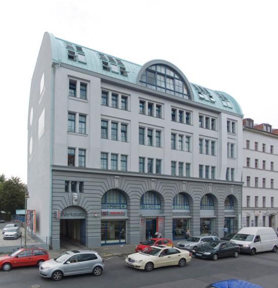 """125.1: """"Gesundheitshaus"""" • Mariannenstraße 9/10 • Fuchs/Müller/Witzgall • Block 82 • Zustand Juli 2012 • Foto: Gunnar Klack"""