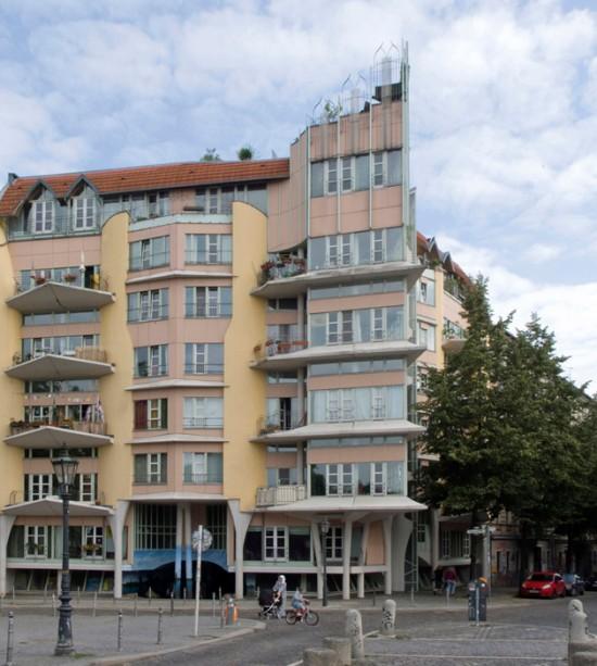 133: Wohnhaus • Admiralstraße, Fraenkelufer • Hinrich Baller/Inken Baller • Block 70 • Zustand Juli 2012 • Foto: Gunnar Klack