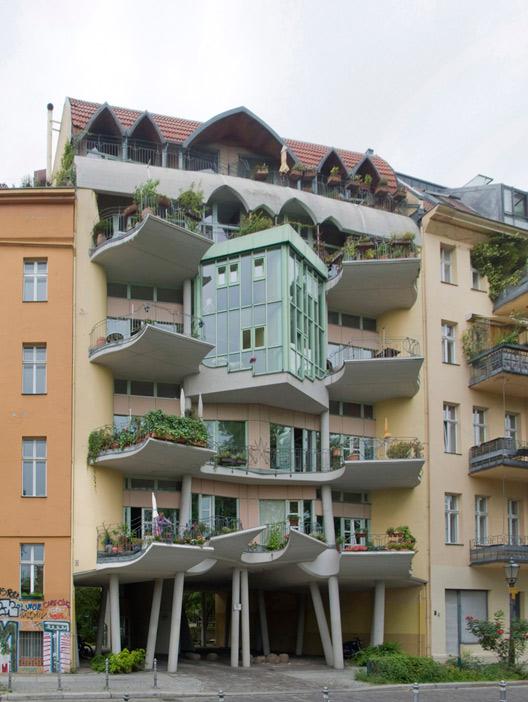 133: Wohnhaus • Fraenkelufer • Hinrich Baller/Inken Baller • Block 70 • Zustand Juli 2012 • Foto: Gunnar Klack