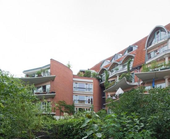 133: Hof-/Brandwandbebaung • Admiralstraße, Fraenkelufer, Kohlfurter Straße, Erkelenzdamm • Hinrich Baller/Inken Baller • Block 70 • Zustand Juli 2012 • Foto: Gunnar Klack