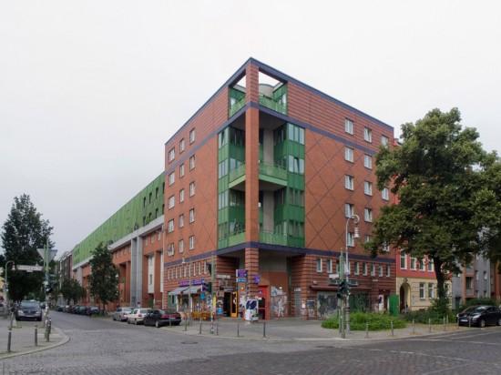 136: Wohnbebauung • Mariannenstraße, Reichenberger Straße • Wilhelm Holzbauer • Block 88 • Zustand Juli 2012 • Foto: Gunnar Klack