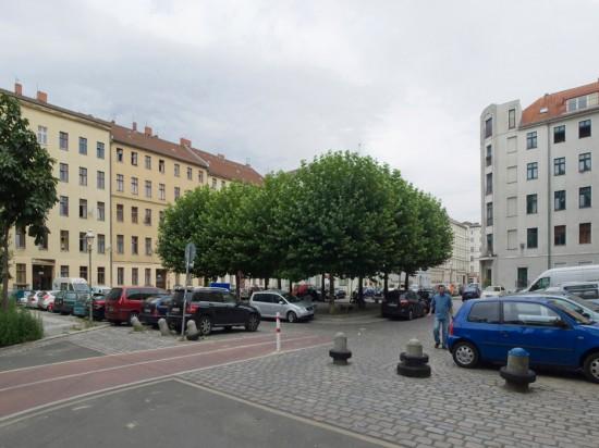 138: Straßenräume Luisenstadt-Nord, Naunynplatz • Naunynstraße • Peter Jürgen Haug • Zustand Juli 2012 • Foto: Gunnar Klack