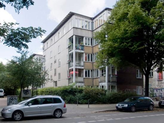 142: Seniorenwohnhaus • Köpenicker Straße 190–193 • Otto Steidle & Partner • Block 119 • Zustand Juli 2012 • Foto: Gunnar Klack