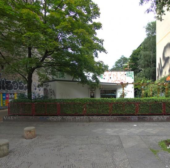 145:Seniorenfreizeitstätte • Falckensteinstraße 6 • Álvaro Siza Vieira • Block 121 • Zustand Juli 2012 • Foto: Gunnar Klack