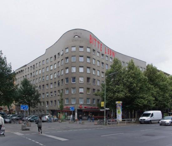 145: Wohnhaus • Schlesische Straße, Falckensteinstraße • Álvaro Siza Vieira • Block 121 • Zustand Juli 2012 • Foto: Gunnar Klack