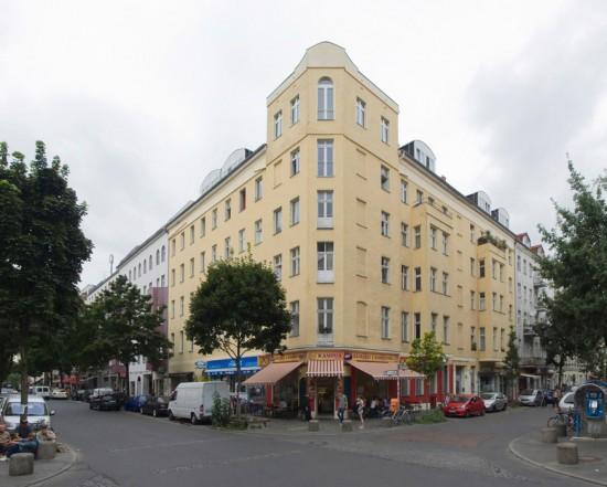 147: Instandsetzung und Modernisierung • Wrangelstraße, Falckensteinstraße • Gruppe 67 • Block 121 (süd) • Zustand Juli 2012 • Foto: Gunnar Klack