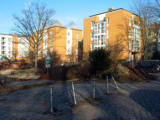 Stadtvillen Lützowstraße 64A–C, Aufnahme März 2012; Foto: Dirk Kaden